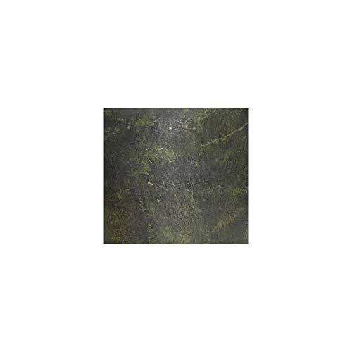 L'Héritier Du Temps Grande vaas tuinder met handgrepen van gietijzer, bloempot, 44 x 44 x 61 cm, groen
