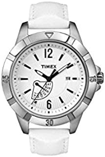 Timex Casual Watch For Unisex Analog Leather - T2N511