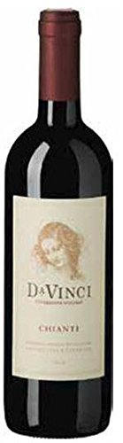 6 x Chianti Leonardo da Vinci DOCG tr. 2016 Leonardo da Vinci im Vorteilspack, trockener Rotwein aus der Toskana