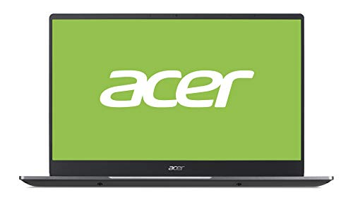 Acer Swift 3 (SF314-57-77MU) 35,6 cm (14 Zoll Full-HD IPS matt) Ultrabook (Intel Core i7-1065G7, 16 GB RAM, 512 GB PCIe SSD, Intel Iris Plus Graphics, Win 10 Home) steel-grey