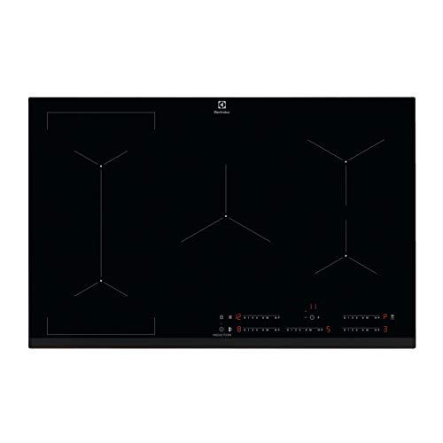Electrolux Elektrische Inductie kookplaat met 5 Verwarming Velden EIV835, Glas