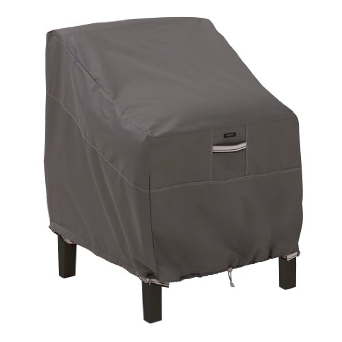 Classic Accessories Ravenna Water-Resistant 38 Inch Patio Lounge Chair Cover