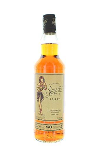 Sailor Jerry Spiced Caribbean Rum 80 Proof 0,70l