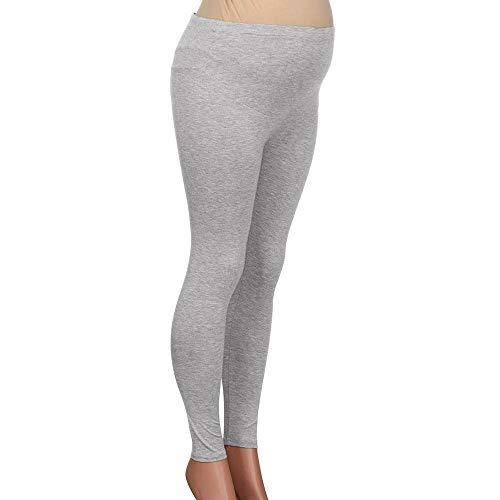 Adelina Damesbroek, lange elastische taille, effen kleuren, stretch, slim, modieus, compleet, fit, voor zwangere vrouwen