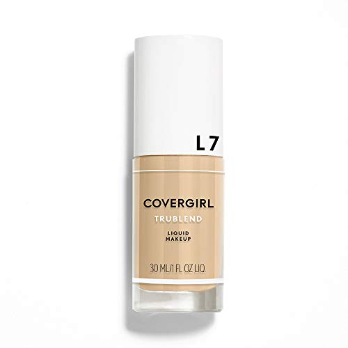 COVERGIRL, truBlend Liquid Foundation Makeup, Warm Beige, 1 oz, 1 Count (packaging may vary)