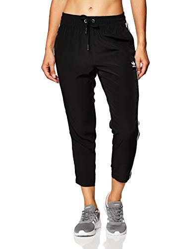 adidas damskie stylizacje uzupełniają przycięte spodnie, czarne, 32