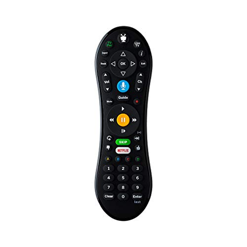 TiVo LUX Remote| Tivo Edge and TiVo Bolt, Video Streaming, Voice Command, See in The Dark Display, C00305