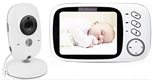 Lullaby Bay Video Baby Monitor with Camera. Anti-Hack Encryption. Wireless...