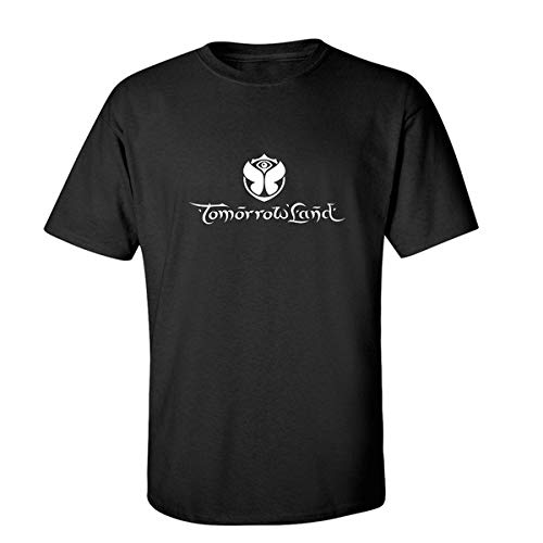 Tomorrowland Short Sleeve T-Shirt Adult T-Shirt Cool Printed Men's T Shirt Pure Color Printing T Shirt