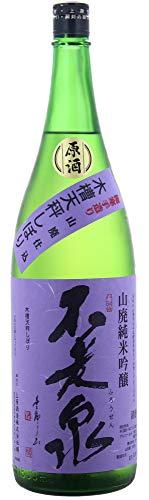 不老泉 山廃純米吟醸 山田錦 火入原酒 紫ラベル 720ml