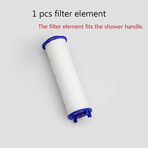 HNLY DREI-Modus-Einstellbarer Hochdruck-Duschkopf, austauschbarer Filter, SPA-Dusche, Wassersparschalter