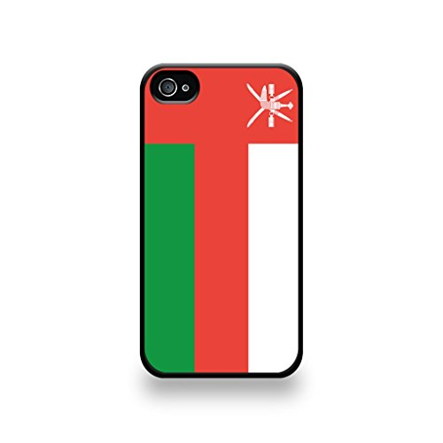 LD Case COQIP4_134 beschermhoes voor iPhone 4/4S, motief vlag Oman