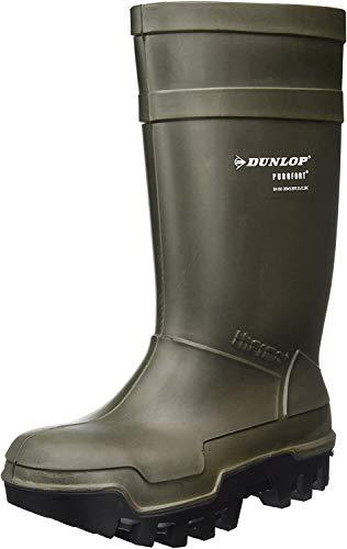 Dunlop C662933 S5 THERMO+ GROEN 9, Unisex-Erwachsene Langschaft Gummistiefel