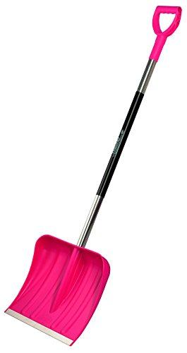 Freund Kunststoff-Schneeschieber 40 cm, pink, 97381