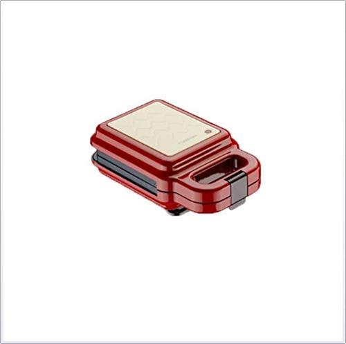Wsjtt toastie maker Máquina de desayuno de tortillas y rosquillas para hacer sándwiches eléctricos, panqueques para la oficina en el hogar, tostadora de pan, bandeja para hornear extraíble, modo de ca