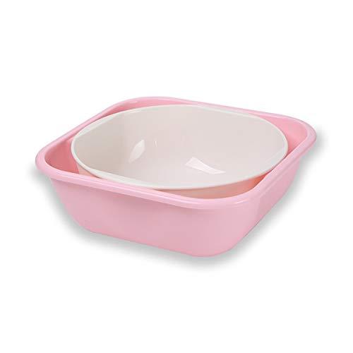 Family Needs Twee kleuren Optioneel Baby & Supplies baby PP baby Bikini Wastafel Pasgeboren Wastafel (Color : Pink)