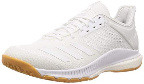 adidas Scarpa Volley Crazyflight X3 Low Unisex (42 2/3 EU, White/White)