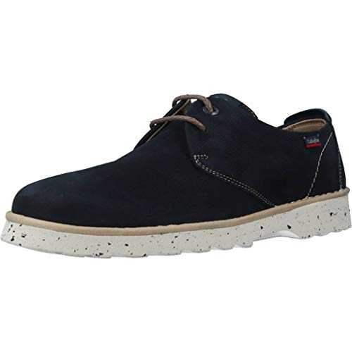 Callaghan Mar, Zapatos de Cordones Derby para Hombre, Azul (Azul 2), 44 EU