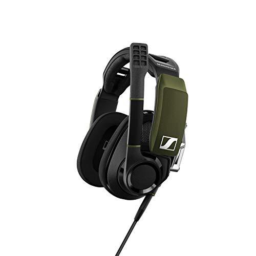 Sennheiser GSP 550 offenes PC-Gaming-Headset mit 7.1 Surround Sound Schwarz/Grün