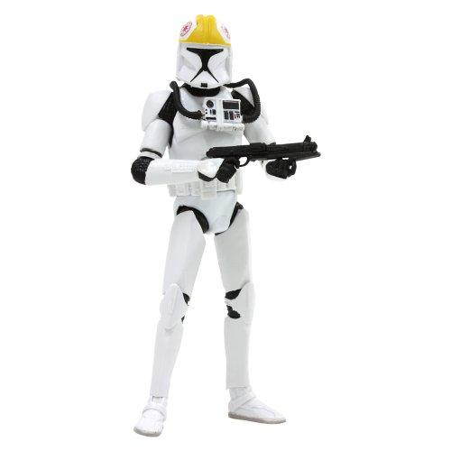 Hasbro Figura de acción Black # 08 Star Wars Clone Pilot 3,75 pulgadas plástico lacado Figura de acción