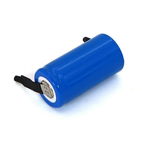 GzxLaY Batería de Respaldo de Alto Rendimiento SC 1.2v Ni-MH 2000mAh 21410 Batería Recargable para Aspiradora Barredora Drone Taladro Eléctrico batería-1PCS Batería ( Color : 2pcs Battery )
