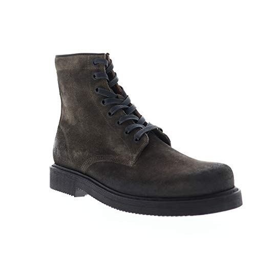 Frye Mens Johnny Combat Gray Casual Dress Boots Boots 7.5