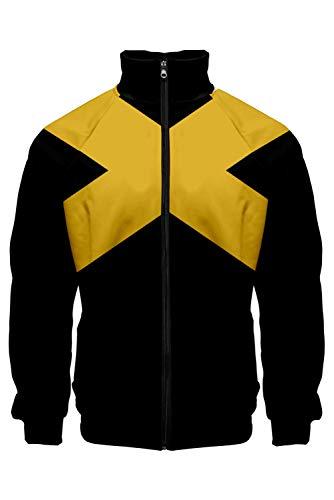 Señores señoras sudadera con capucha Camisa de entrenamiento sudadera con capucha Imprimir con capucha Tops suétershirt chaqueta de sudor Outwear Oberteile suétershirt saltador X-Men: Dark Phoenix