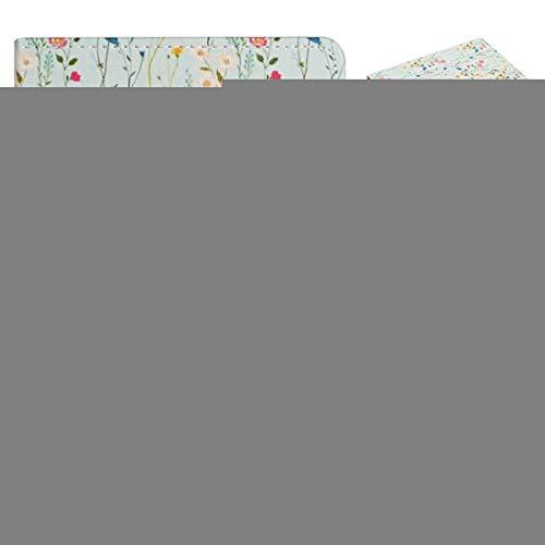 WEI RONGHUA Funda de piel con tapa horizontal para tablet de 8 pulgadas, universal, diseño de flores, con ranuras para tarjetas y soporte, funda universal (color: pequeño floral)