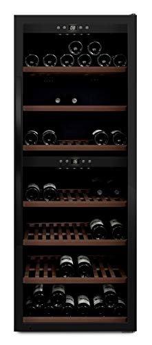 mQuvée WineExpert 126 - Nevera de vino (59,5 x 159 x 63 cm)