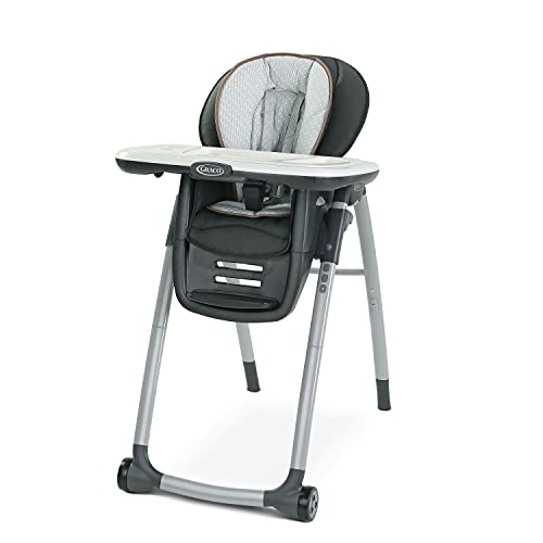 Graco Table2Table Premier Fold 7 in 1 Convertible High Chair | Converts to Dining Booster Seat, Kids Table and More, Tatum