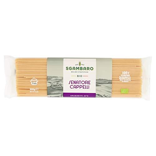 Pasta Sgambaro - Spaghetti N. 5 - Senatore Cappelli Bio - 500 gr