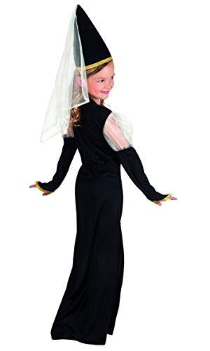 Boland 82232 – Kinderkostüm Lady Isolde, schwarz - 2