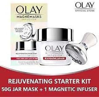 KHAOJAO BEAUTY :Olay Magnemasks Rejuvenating Mask Starter Kit (Rejuvenating Mask 50 g+ Magnetic Infuser)