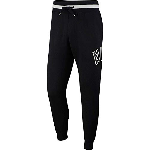 Nike Herren M NSW AIR FLC Pants, Black, M
