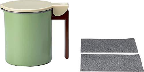 高木金属オイルポットフッ素コート活性炭ろ過ポット日本製0.55LKWPM-0.55
