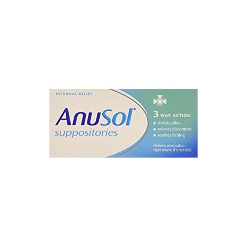 Anusol Haemorrhoids for Piles Treatment - Pack of 24 Suppositories