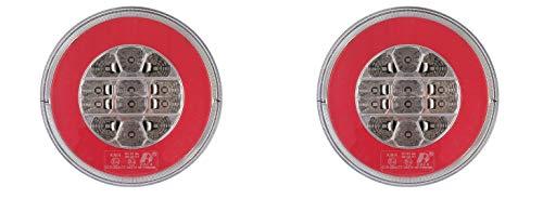 2x LED Rückleuchten 12/24V 3 Funktionen E-Prüfezeichen LKW Anhänger Heckleuchten Satz OVP Neu