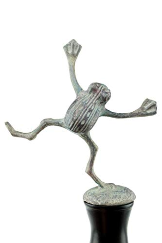 Clever Garden Heavy Duty Decorative Hose Guide - Dancing Frog, 1 Pack