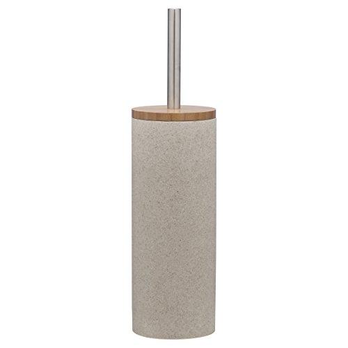 Sealskin Toilettenbürste Grace, WC-Bürstengarnitur aus Polyresin, Farbe: Sand
