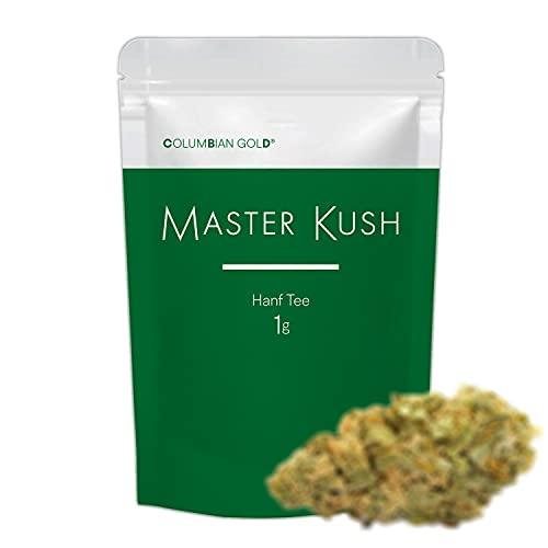 Bestes Aroma / Master K Tee / Höchste Qualität / Natürliche Blüten / 1a Geruch / Optimaler Trocknungsgrad / 1g Inhalt / Made in Spanien