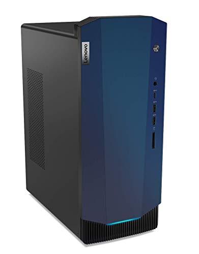 Lenovo IdeaCentre G5 - Ordenador de sobremesa Gaming (Intel Core i5-10400F, 512GB SSD+1TB HDD, RAM 8GB, NVIDIA GTX 1650 SUPER-4GB GDDR6, Sin Sistema Operativo) Ratón+Teclado USB QWERTY Español, Negro