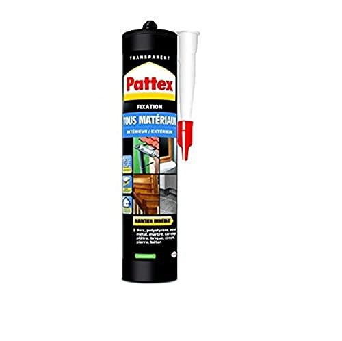 Pattex 1789251 - Colla forte per tutti i materiali da interni esterni, 290 g