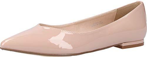 Buffalo Damen AMIREH Geschlossene Ballerinas, Beige (Nude 000), 37 EU