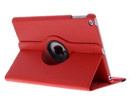360° Draaibare Bookcase iPad (2017) / (2018) tablethoes - Rood