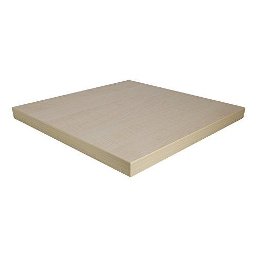 Dekorspanplatte Ahorn Honig Spanplatte als Tischplatte, Schreibtischplatte, Laden- & Möbelbau, Maße: 100 x 100 cm, Stärke: 28 mm