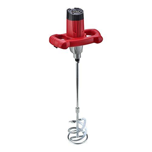 STIER Rührwerk RW80, Mörtelrührer, 1220 W, maximales Mischvolumen 80 l, geeignet für Farbe, Mörtel