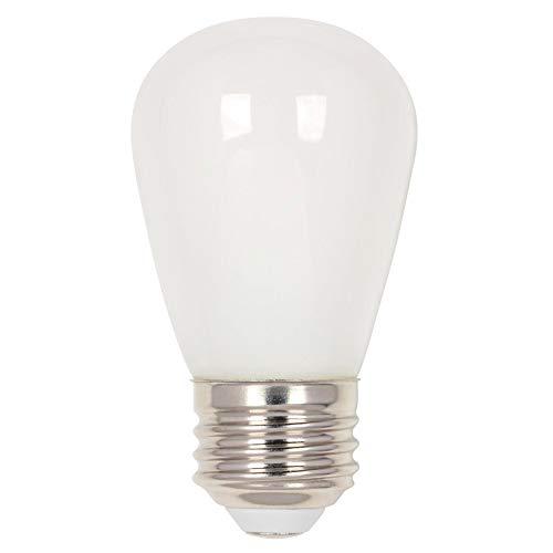 Westinghouse Lighting 5511500 1.2 (15-Watt Equivalent) S14 Frosted, E26 (Medium) Base LED Light Bulb