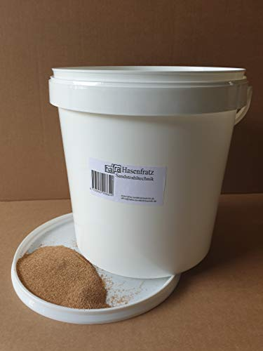 Strahlmittel-Nußschalen 450-800µ - 5Kg