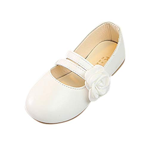 Enfants Sandales décontractées Printemps et Automne Confortables Chaussures de Danse de Fleur de bébé Doux Sandales Princesse