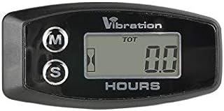 Jayron JR-HM015B Medidor de horas inalámbrico LCD,medidor de horas de vibración digital,para todas las máquinas vibratorias,generador,moto de agua,cortacésped